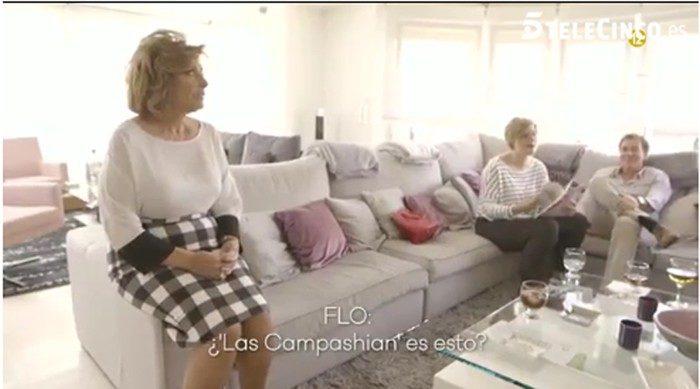 María Teresa Campos reacciona a la promo de su programa con Terelu