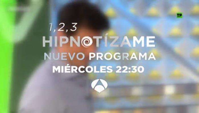 El segundo especial de 1, 2, 3 hipnotízame se estrena mañana en Antena 3