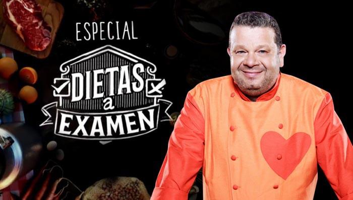 Dietas a examen, esta noche con Alberto Chicote en Antena 3