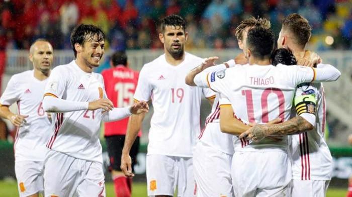 Albania - España roza los 5,5 millones de espectadores en La 1