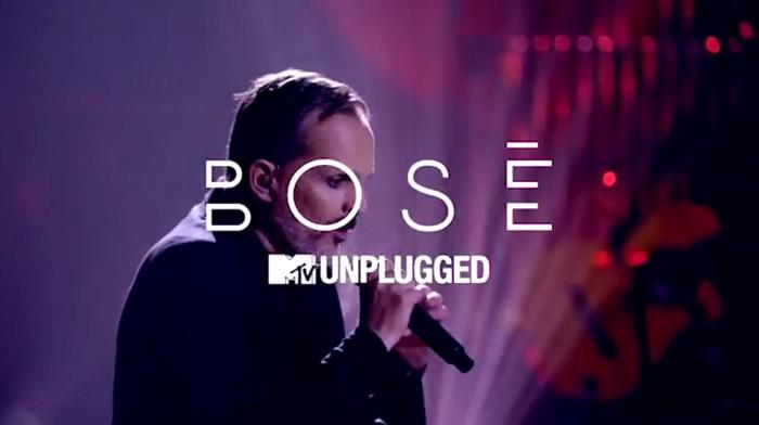 MTV estrena esta noche Miguel Bosé: MTV Unplugged