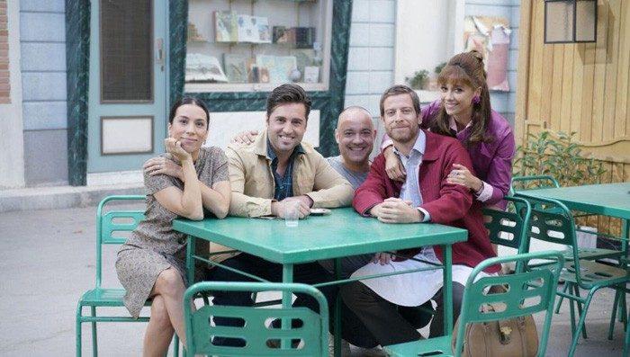 David Bustamante se estrena como actor en Amar es para siempre