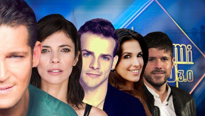 Maribel Verdú, Manu Tenorio, Nuria Fergó y Álex Casademunt y Pablo López, esta semana en El Hormiguero