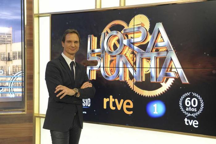 Hora punta con Javier Cárdenas debuta el lunes en La 1