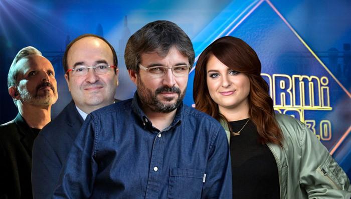 Miguel Bosé, Miquel Iceta, Jordi Évole y Meghan Trainor visitan esta semana El Hormiguero 3.0