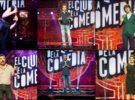 Agustín Jiménez, Luis Piedrahita, Silvia Abril y Quequé, esta noche en El club de la comedia