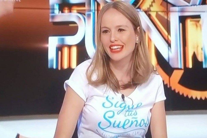 Esmeralda Moya fan de Hora Punta