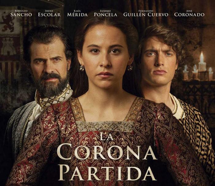 La 1 emite esta noche La corona partida con Rodolfo Sancho, Irene Escolar y Raúl Mérida