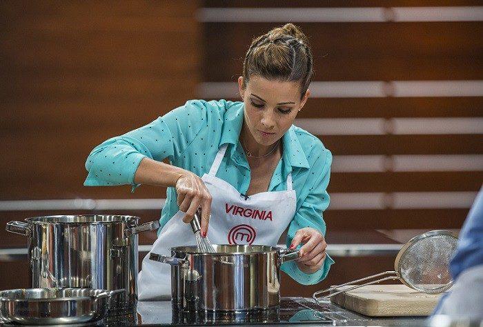 Virginia Troconis se despide de MasterChef Celebrity