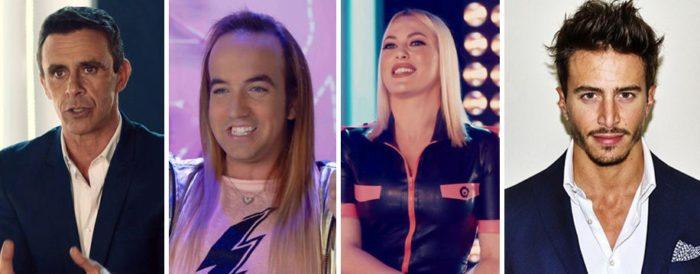 Cuatro nuevo confirmados en Gran Hermano VIP 5: Alonso Caparrós, Aless Gibaja, Daniela Blume y Marco Ferri