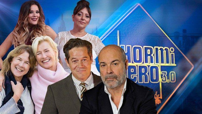 Antonio Resines y Jorge Sanz, Ana Duato y Lorena y Yolanda Ramos visitan El Hormiguero