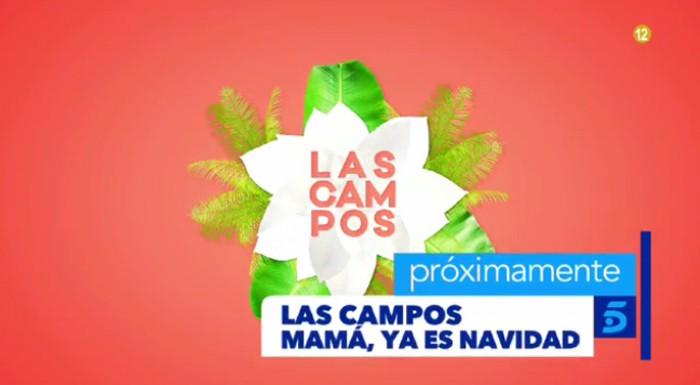 Especial navideño de Las Campos, el 27 de diciembre en Telecinco