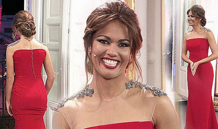 Vicky Martín Berrocal viste a Lara Álvarez