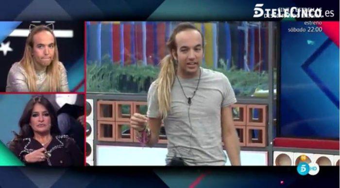 Aless Gibaja es expulsado de Gran Hermano VIP 5