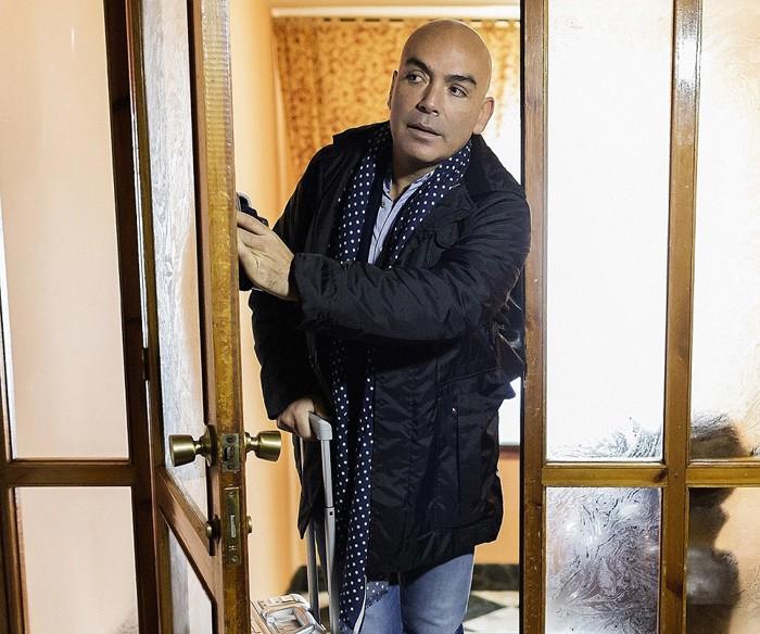 Kike Sarasola pernocta en una habitación encantada mañana en Este hotel es un infierno