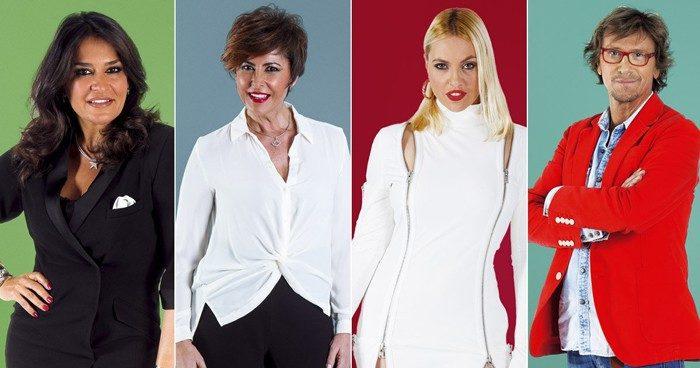 Aída Nízar, Alejandro Abad, Irma Soriano y Daniela Blume, nominados en Gran Hermano VIP 5