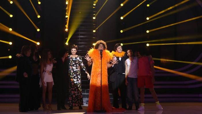 Lorena, Beatriz Luengo, Rosa y Canco Rodríguez se unen a Blas Cantó en la final de Tu cara me suena