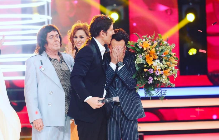Blas Cantó ganador de Tu cara me suena