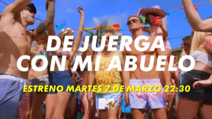MTV España estrena mañana De juerga con mi abuelo