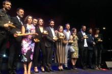 Ganadores de la XXVI edición de los Premios Unión de Actores y Actrices