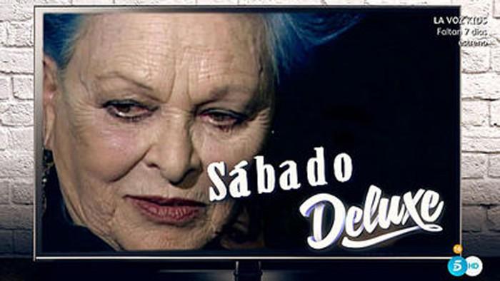 Sábado deluxe debuta esta noche con Lucía Bosé como invitada