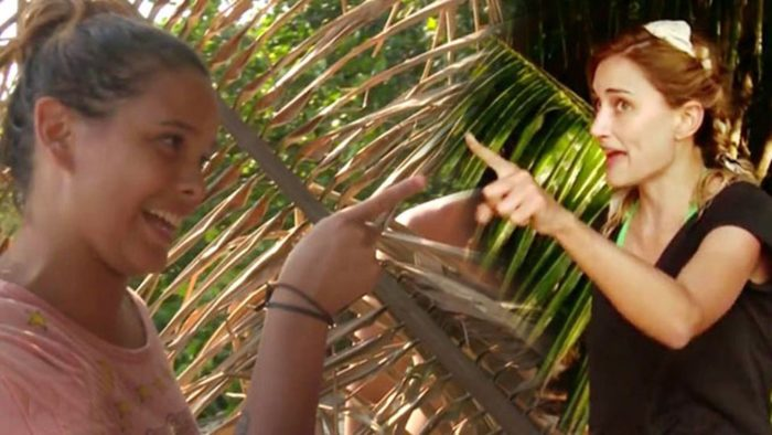 Alba Carrillo y Gloria Camila castigadas por su pelea en Supervivientes 2017