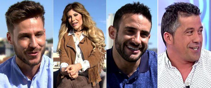Alejandro Caracuel, Paola Caruso, Eliad Cohen y José Luis (MásterChef 4) a Supervivientes 2017