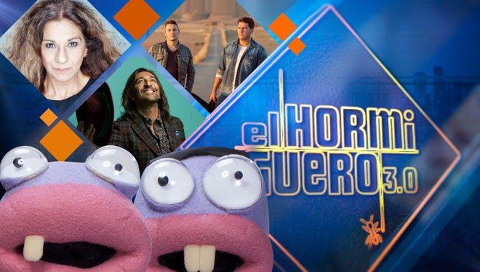 Lolita, Andy y Lucas y Antonio Carmona visitan El Hormiguero 3.0