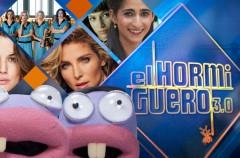 Las chicas del cable, Úrsula Corbero y Alba Flores, Elsa Pataky y Adriana Ugarte en El Hormiguero