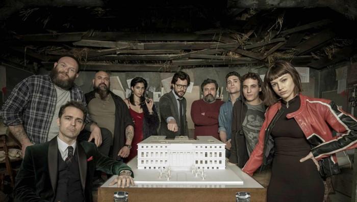 La casa de papel debuta el martes 2 de mayo en Antena 3