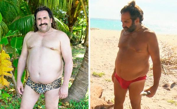 El antes y después de los concursantes de Supervivientes 2017