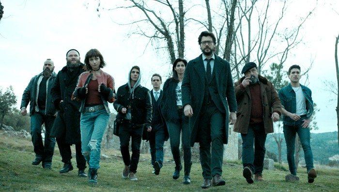 El estreno de La Casa de Papel se enfrenta a Supervivientes. Tierra de Nadie