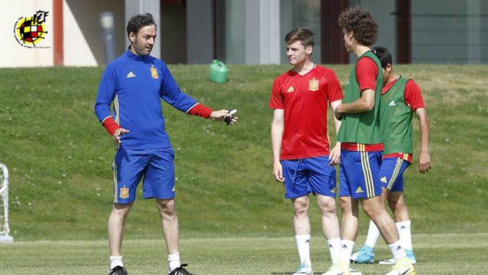 DMAX emite los partidos de la selección española Sub-17 en el Europeo desde mañana