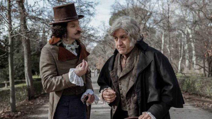 Goya protagoniza El Ministerio del Tiempo con la vuelta de Velázquez