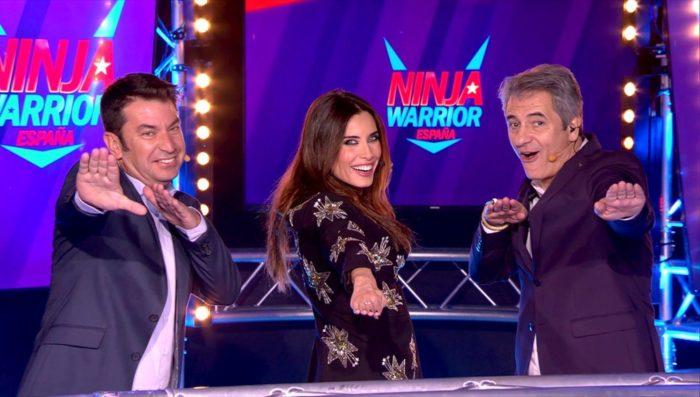 Ninja Warrior a la conquista de la noche del viernes con Pilar Rubio de vuelta al prime time