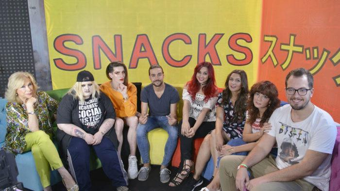 Cuatro apuesta por los influencers desde el sábado con Snacks de la tele