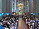 Gran audiencia para la Misa por la Paz que retransmitió RTVE desde la Sagrada Familia