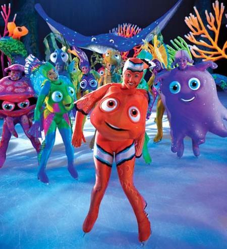 Finding Nemo On Ice