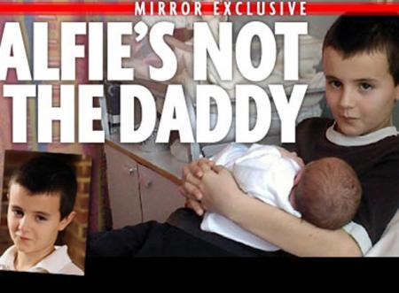 Alfie no es el padre