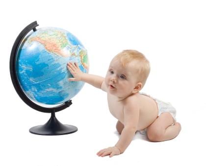 viajar al extranjero con el bebe