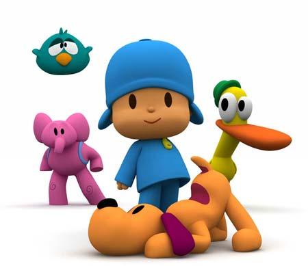 Pocoyó y sus amigos
