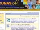 La OMS recomienda la web de vacunas de la Asociación Española de Pediatría