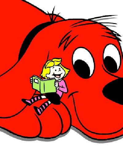 Dibujos animados Clifford el gran perro rojo