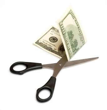 Dinero cortado