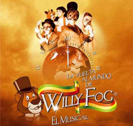 La vuelta al mundo con el musical de Willy Fog