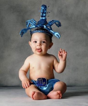 escorpio, el bebe temperamental