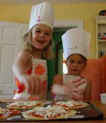 Cocinar con niños: Pizza