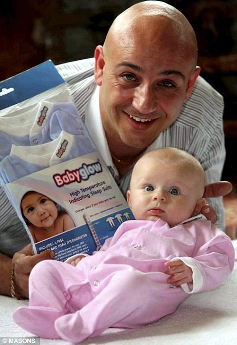 Babyglow, ropa para saber si el bebé tiene fiebre