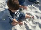 La Pica: El bebé come tierra