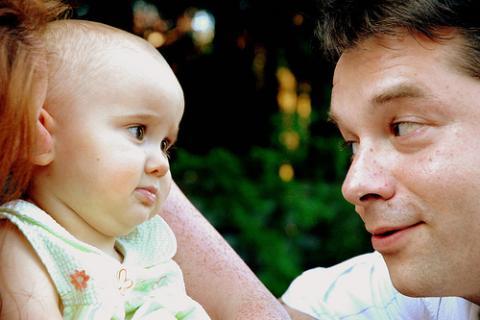 bebe y papa